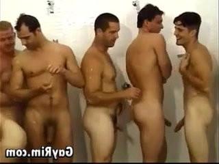 Orgy In The Locker Room