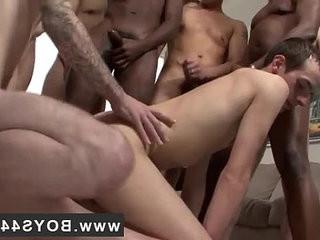 Hot homosexual Sean Summers Bukkake Splash