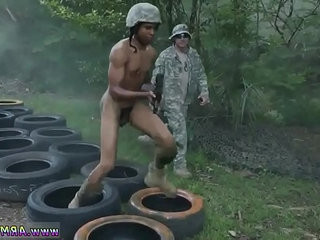 Fat naked soldiers gay first time Jungle plow fest