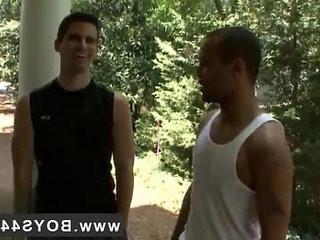 Gay boys blondie punching Hell raising Bukkake with Diablo!