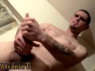 Teen emo gay clips suspended straight boy Nolan has a load of jism in his