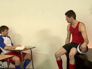 Horny gay jocks Andrew and Kody fucking buttranssexual only