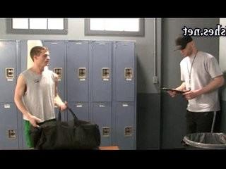 nasty boys having arse fucking in the locker room