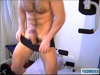 Francois Sagat His video made with us! His huge black monster shaft serviced by us !