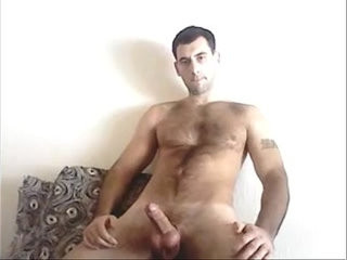 Hot hairy wanker