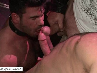 bisexuallly Santoro pounded by Christian Wilde