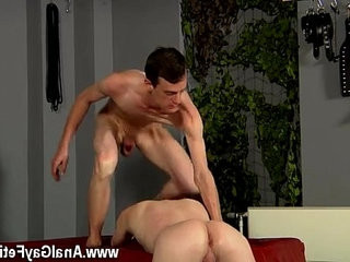 Gay porno Fucked And Milked Of A Load
