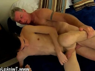 Young boy homophile porno vid Daddy Brett obliges of course, after sharing